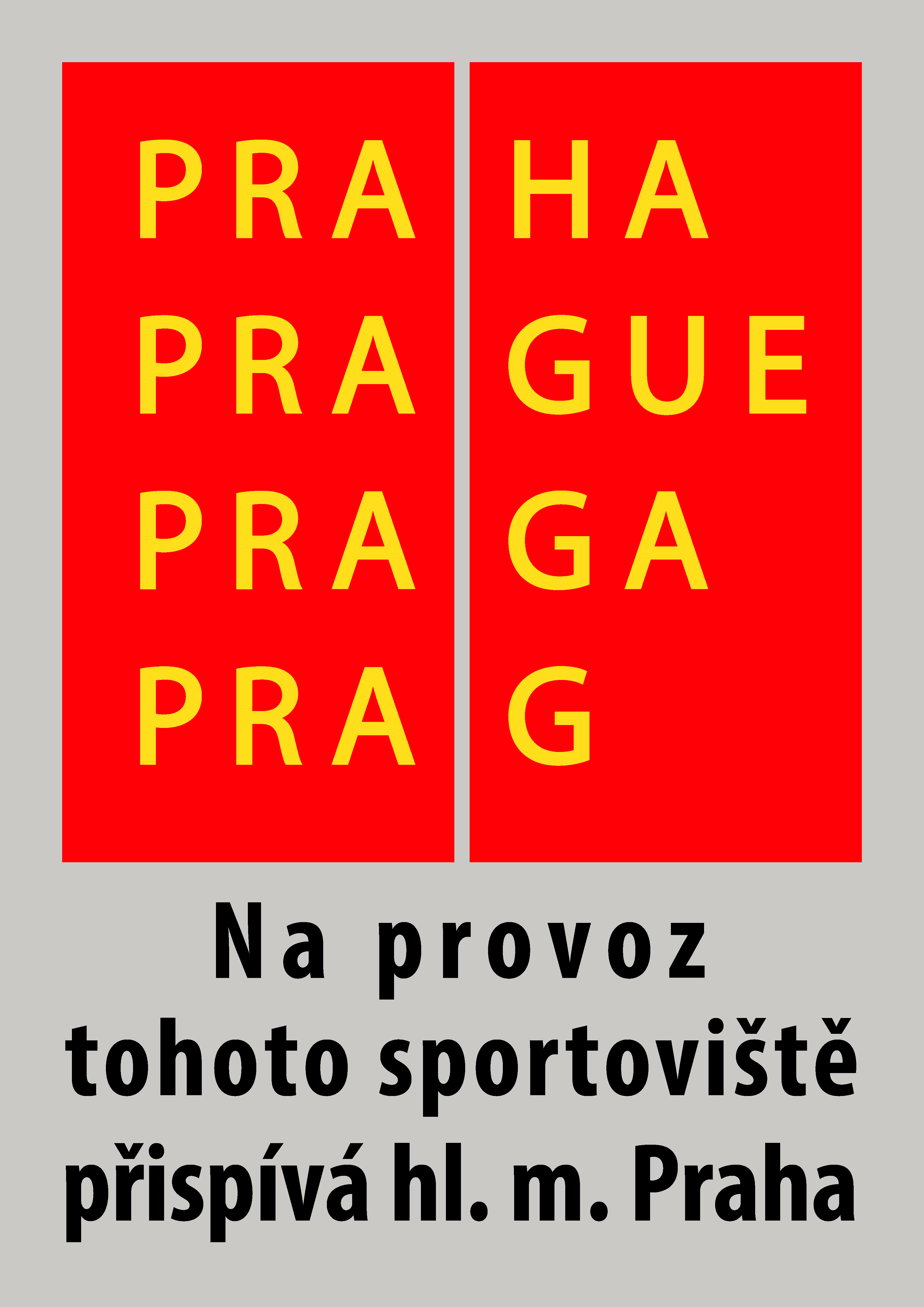 Na provoz tohoto sportoviste prispiva hl. m. Praha